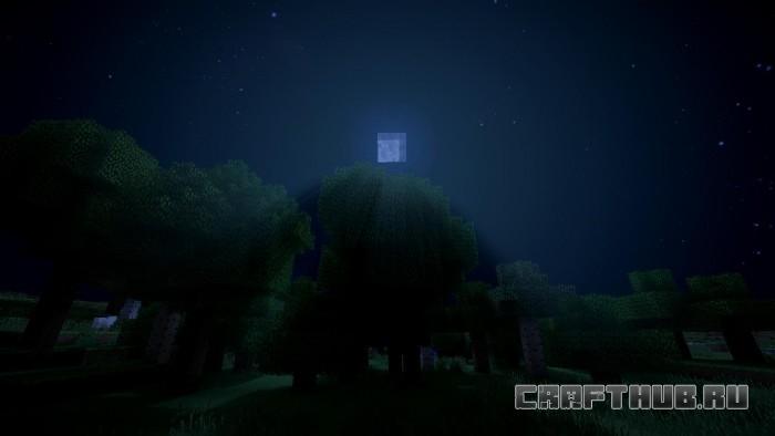 Шейдеры Sildur ночь
