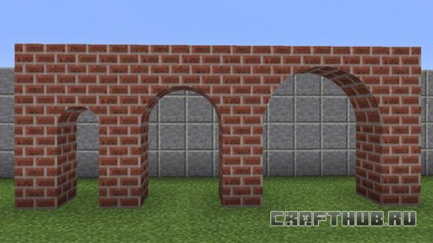 скругленные арки