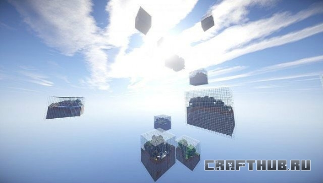 Мод на миры Cube World