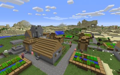 Сид с деревнями и храмами