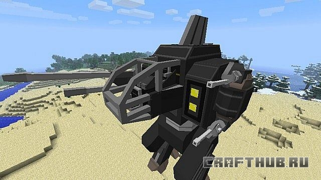 Мод на военную технику FutureCraft