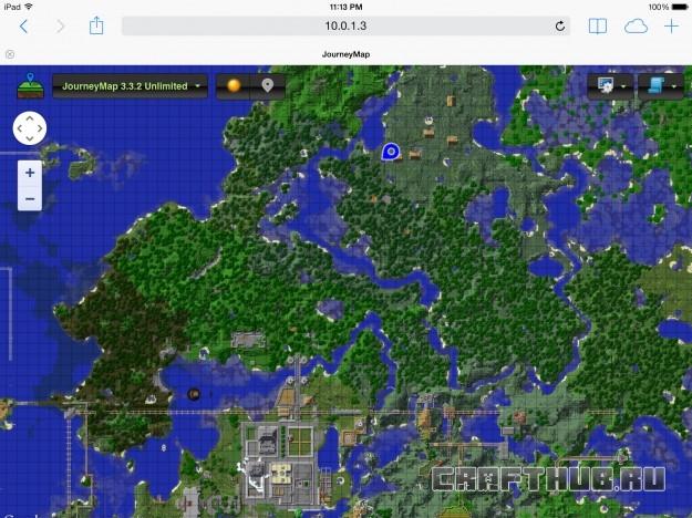 карта на iOS