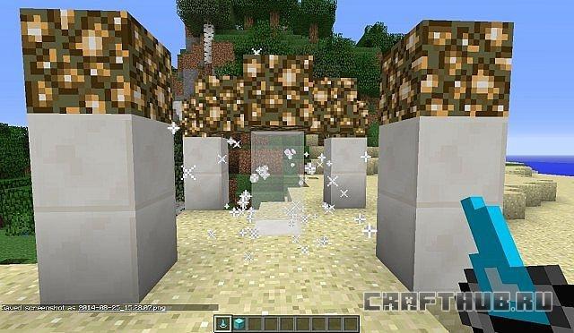 Мод на руды Miner's Heaven