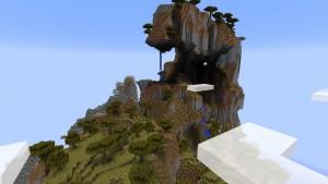 Крутая гора, возле которой вы появляетесь.