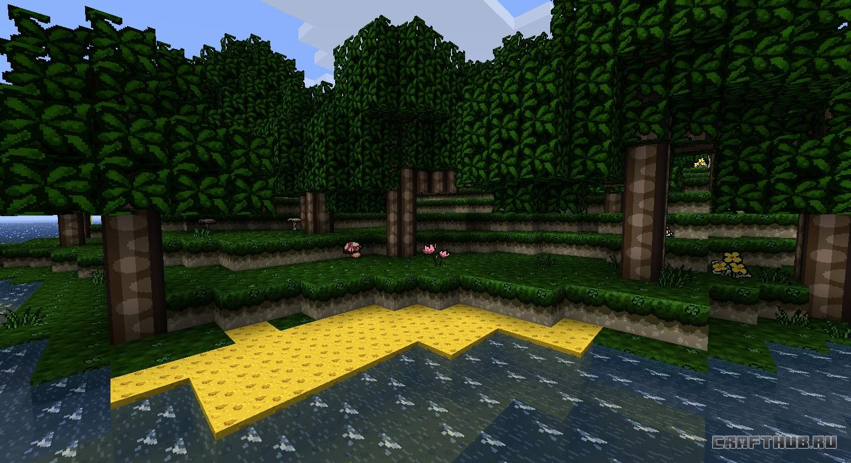 Скачать текстуру Life HD для Minecraft 1.5.2 [128x ...