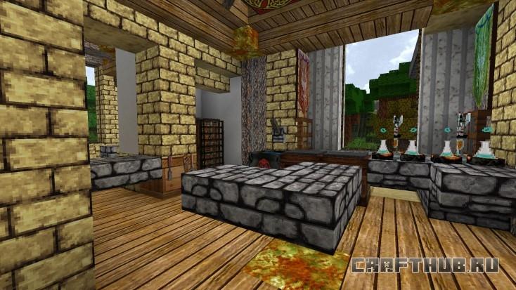 Текстур-пак Elements 64