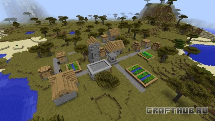 Тут вы появляетесь, первая деревня на вашем пути.