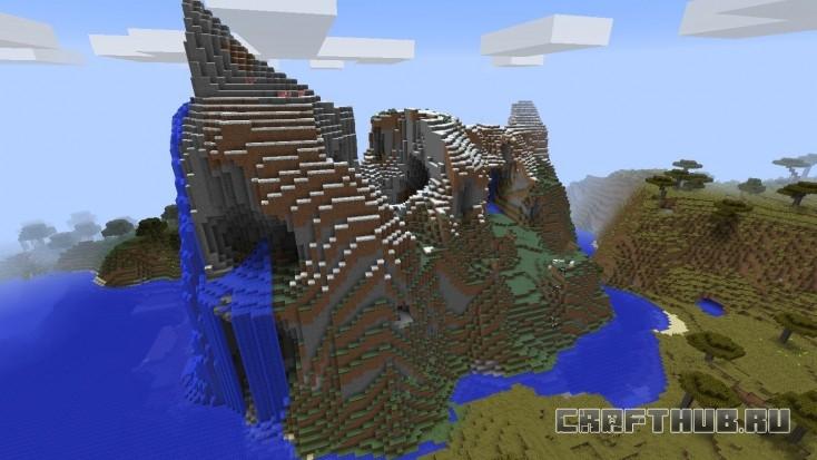 Удивительная гора, но не та самая.