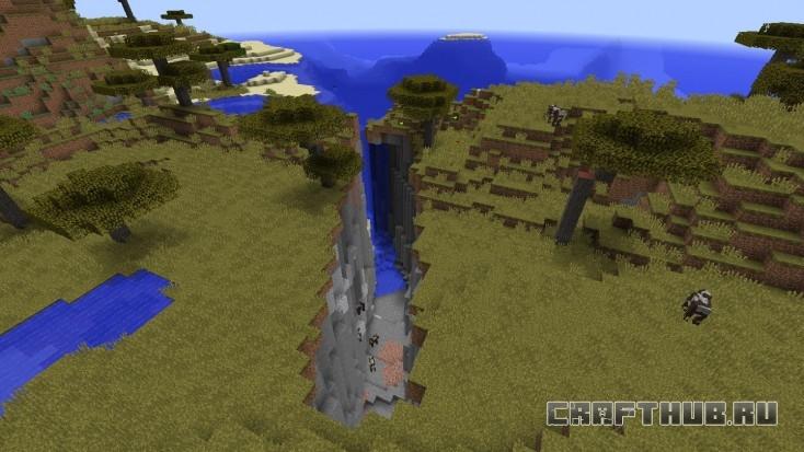 Иногда природа удивительна, в Minecraft в том числе.