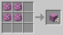 крафт пурпурного блока