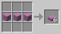 крафт пурпурной плиты