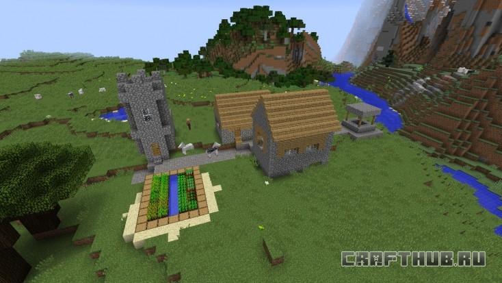 Вторая деревня NPC не столь интересна, как первая.