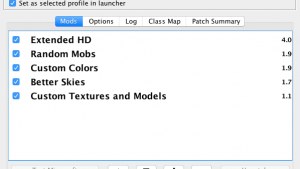 Патчер текстур MCPatcher HD