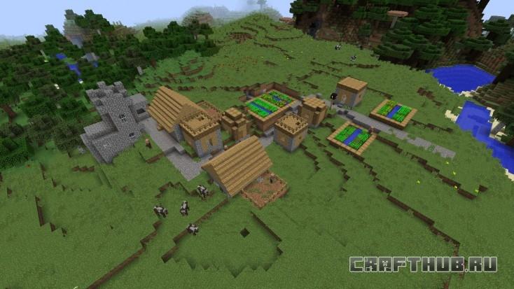 Вторая деревня находится в непосредственной близости от места появления.