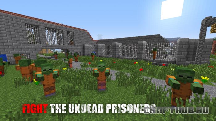Карта с зомби на выживание Dead Prison