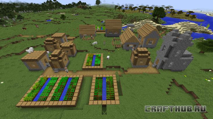 нетипичная деревня