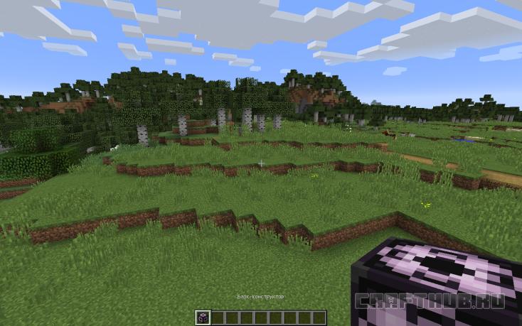 блок-конструктор в Minecraft 1.10