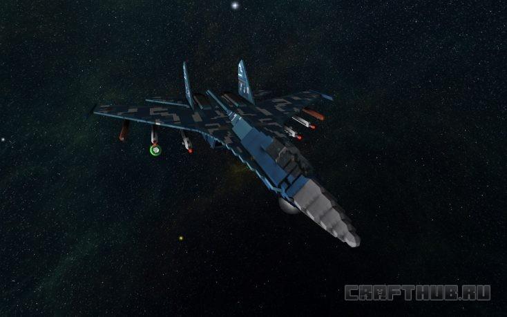 И это тоже космический корабль!