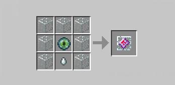 крафт кристалла Края