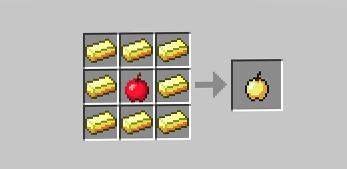 крафт золотого яблока